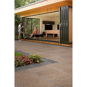 Marshalls Granite Eclipse Patio Pack 17.9m2 - Terra