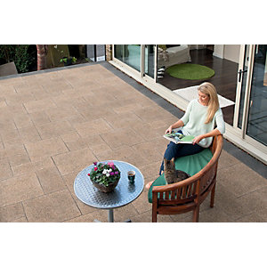 Marshalls Granite Eclipse Patio Pack 17.9m2 - Corona