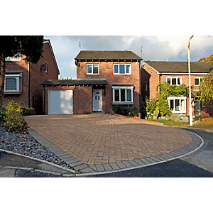 Marshalls Block Paving 200 x 100 x 50mm Pack 488 - Bracken