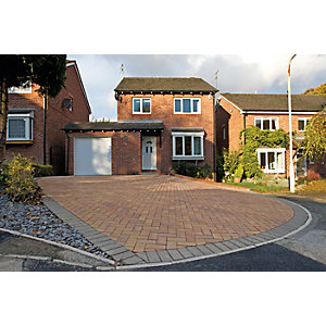 Marshalls Block Paving 200 x 100 x 50mm Pack 488 - Sunrise