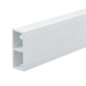 Marshall-Tufflex Compartment Mini Trunking White 38mm x 16mm x 3000mm