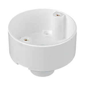 Marshall Tufflex 3MRB1WH Conduit Back Outlet White