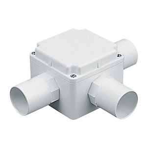 Marshall Tufflex Square Tee Adaptor Box 32mm Square