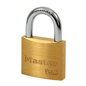 Master Lock 4140KA Brass Padlock 40mm