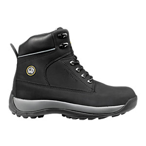 Rhino Overload Safety Boot Black