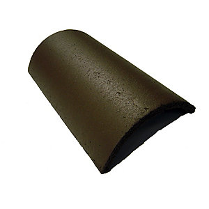 Marley Segmental Ridge Tile Smooth Brown