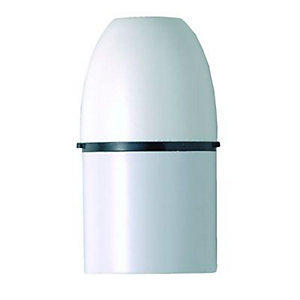 Wickes/Building & Timber Products/Building materials & accessories/MK Lampholder Cordgrip 1170RPWHI