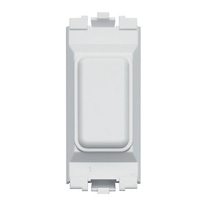 Wickes/Electrical & Lighting/Switches & Sockets/MK Grid 1 Gang Module Blank Insert White