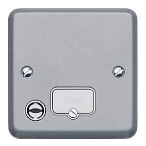 MK Metalclad 13A Unswitched Connection Flex Outlet