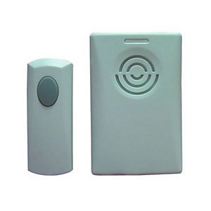 Wickes Plug in Door Chime with Push 75m Range