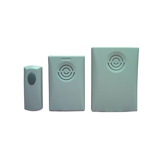 Wickes home garden door chime kit twin pack for Door viewer wickes