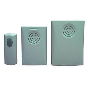 Wickes Home & Garden Door Chime Kit Twin Pack