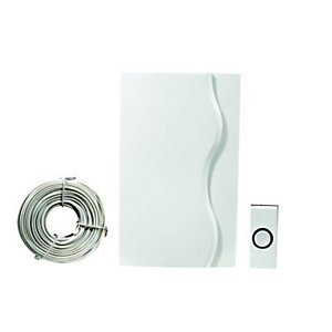 Wickes Wired Door Chime Kit White