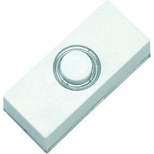 Wickes Doorbell Push White
