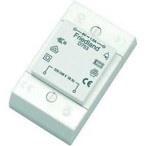 Wickes Door Chime Transformer