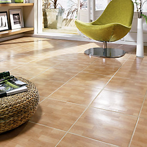 Wickes Ardenne Birch Matt Ceramic Wall & Floor Floor Tiles 330x330mm
