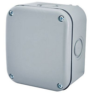 Masterplug Small Exterior Junction Box