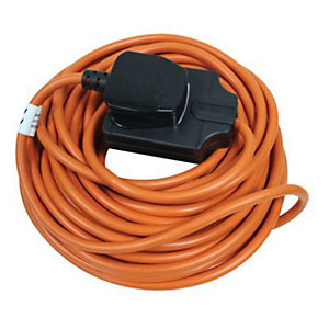 Masterplug Heavy Duty Garden Extension Lead 10m