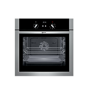 Neff B14M42N5GB Single Multi Function Oven Stainless Steel
