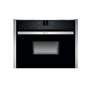 Neff C17DR02N0B Compact Steam Oven Black
