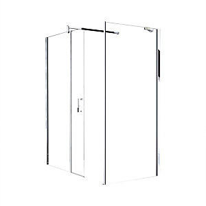 Novellini GOF36-1K Go Fixed Panel Clear Glass