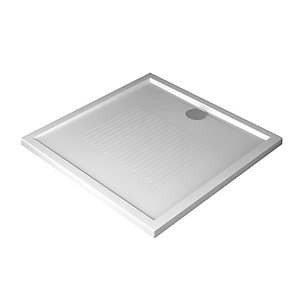 Shower OL180754-30 Tray Olympic 180mm x 75mm External Rim White 030 4.5cm