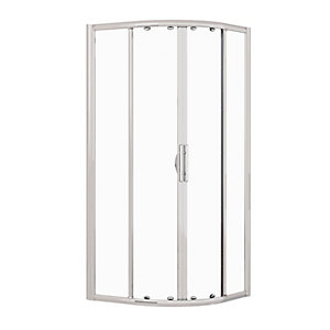 Novellini Lunes R 900mm x 900mm Glass Silver