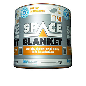 Knauf 150mm Space Blanket Loft Insulation Roll 1.97m2