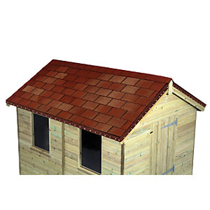 Wickes Multi-Tone Red Shingles Pack 14