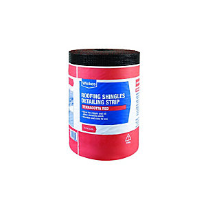 Wickes Detailing Strip for Red Roofing Shingles 0.3 x 7.5m