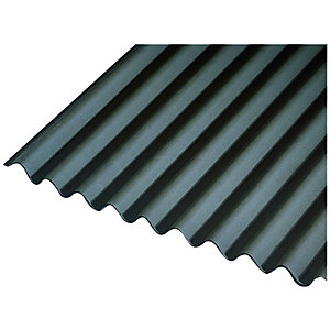 Black Corrugated Bitumen Sheet 950 x 2000mm