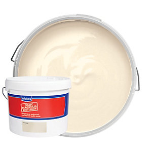 Wickes Budget Matt Emulsion Paint Magnolia 10L