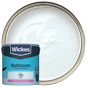 Wickes Bathroom Soft Sheen Cloud 2.5L