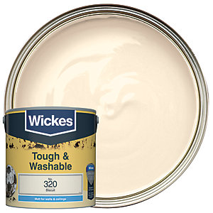 Wickes Durable Matt Biscuit 2.5L