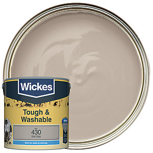 Wickes Durable Matt Earl Grey 2.5L