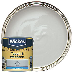 Wickes Durable Matt Nickel 2.5L