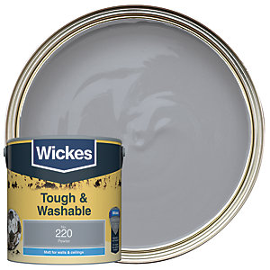 Wickes Durable Matt Pewter 2.5L