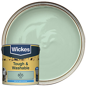 Wickes Durable Matt Sage 2.5L