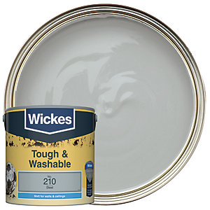 Wickes Durable Matt Steel 2.5L