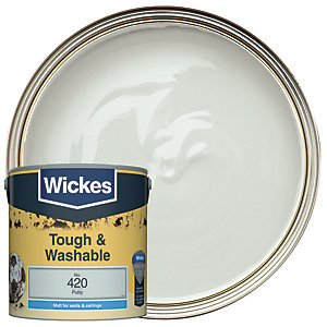 Wickes Durable Matt Putty 2.5L