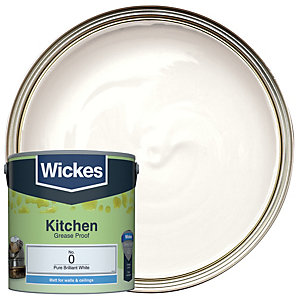 Wickes Kitchen Brilliant White 2.5L