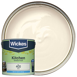 Wickes Kitchen Matt Ivory 2.5L