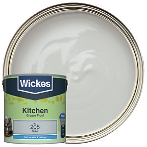 Wickes Kitchen Matt Nickel 2.5L
