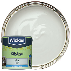 Wickes Kitchen Matt Putty 2.5L