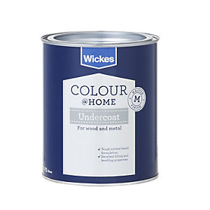 Wickes Solvent Based Undercoat Grey 750ml