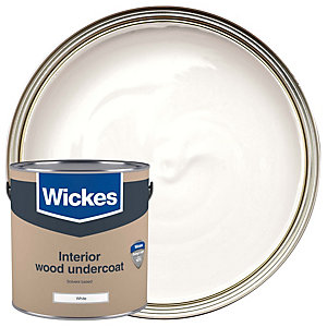 Wickes Solvent Based Undercoat White 2.5L