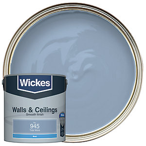 Wickes Colour @ Home Vinyl Matt Emulsion Paint Tidal Wave 2.5L