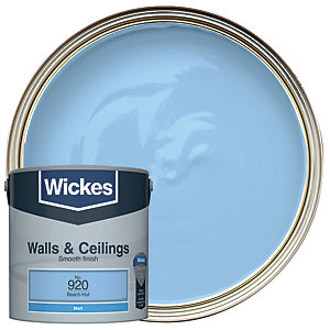 Wickes Colour @ Home Vinyl Matt Emulsion Paint- Beach-Hut 2.5L