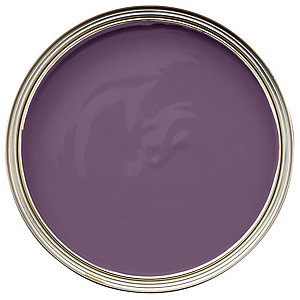 Wickes Colour @ Home Vinyl Matt Emulsion Paint- Dark Amethyst 2.5L
