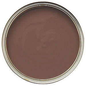 Wickes Colour @ Home Vinyl Matt Emulsion Paint- Chocolate 2.5L
